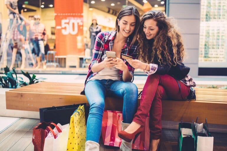 comprando pelo celular